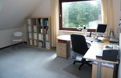 Home Staging Arbeitszimmer